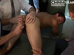 Straight Man Taught To Submit CMNM
