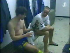 Jugadores De FutboL In Lockers