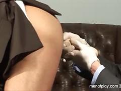 Menatplay - Doctor Stevens Examines Damien Crosse
