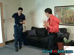 These Guys Are Horny And Hard In The Office 1 By HardOnJob