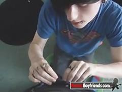Emo Boy Josh Osbourne Sucks His Boyfriend