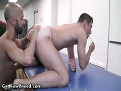 Igor Lucas And Zac Zaven Extreme Homosexual Hard Core Making Out On Rubbing Bed 9 By GetRawBreed