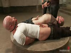 Ned And Chad In Very Extreme Gay Porn Bondage 2 By BoundPride