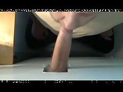 BEAR SUCKING 8 INCH UNCUT AT GLORYHOLE