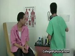 Ramon Gets His Teenage Cock Examined And Jerked By Doktor 1 By CollegeBFphysical