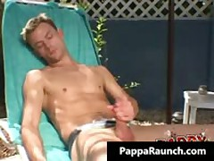 Extreme Homo Hard Core Arse Making Out At The Pool Homo Video 1 By PappaRaunch
