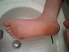 Golden Shower Feet