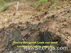 Brazilian Cowboys And Natives