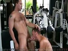 Gym Fuck: John Magnum & Steven Daigle