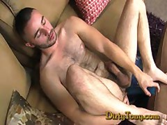Hairy Arab Jacking His Huge...