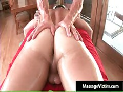 Calvin Gets His Hard Cock Rubbed Hard During Massage 4 By MassageVictim