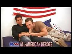 Marine Fucks Mysterious Man