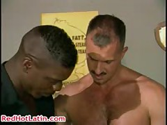 Dereck Bishop, Christopher Fleur De Lis And Marc West Queer Gang Bang 5 By RedHotLatin