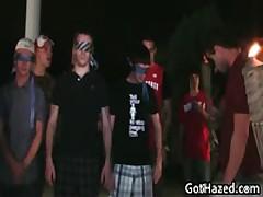 Fresh Heterosexual School Men Get Homosexual Hazing 66 By GotHazed