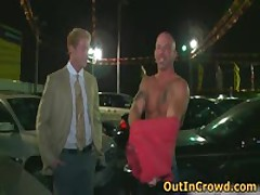 Exciting Heterosexual Hotties Get Outed In Outdoor Places Queer Videos 2 By OutInCrowd