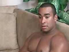 Steamy Latino Bro Sucking Off Some Firm Ebony Sausage By MyBaitBuddy