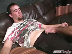 Ex-Marine'S First Gay Blowjob