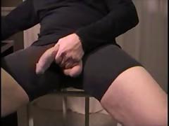 PVANDYKE: Black Shorts