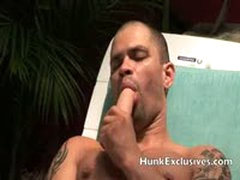 Tony Enjoy Jerking While Toying His Tight Ass
