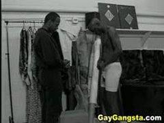 Ebony Gays Hardcore Anal Hole Fucking