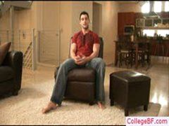 College Stud Busting His Nice Nuts By Collegebf