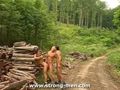 Muscle Threesome