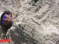 Gay Revenge - Beach Blowjob