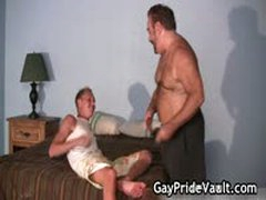 Blond Guy Is Fucked By Gay Bear 3 By GayPrideVault