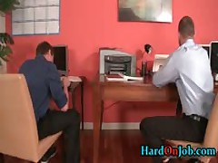 Drew And Jayden Having Some Homosexual Making Out Awesome Up The Work 1 By HardOnJob