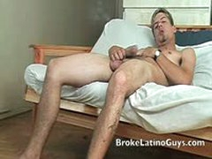 Jorge Jerking Hard And Fast His Huge Cock