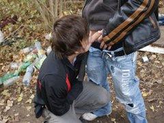 Shocking-Homeless Raw Fuck