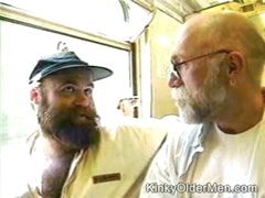 Hot Sucking On A Train