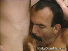 Mustached  Fucks A Twink