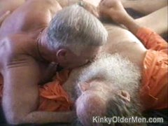 Watching Old Guys Suck Cock