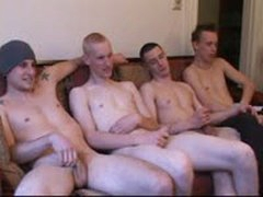 Five Dudes Wank Session