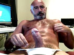 Hairy 'S Thick Cock Jock Strap Jack Off