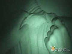 Jerking My Sleeping str8 Flat Mate