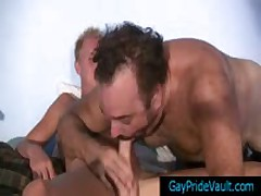 One Lucky Dude Getting Pounded By Gang 5 By GayPrideVault
