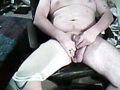 Stroking Showing Stump