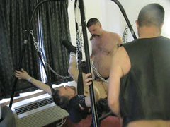 Dad & Leatherboy Share A Hot Bottom