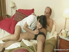 Mature Dude Wakes Twink For Some Lovin