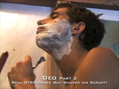 Scruffy Twink Shaves