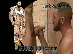 Hairy Muscle Blowjobs