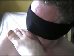 Foot Licking Bear Scene