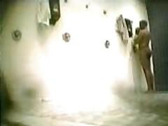 Public Shower Jackoff